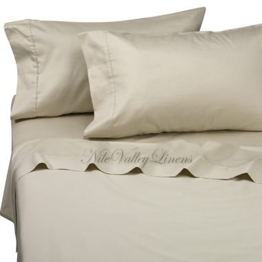 NILE VALLEY 100%EGYPTIAN COTTON 800 TC BED SHEETS-TWIN