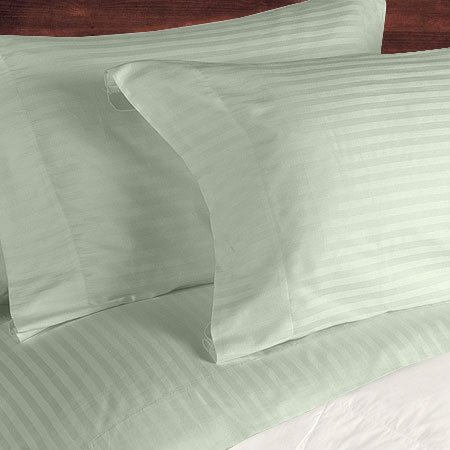 NILE VALLEY 100%EGYPTIAN COTTON 800 TC BED SHEETS-KING STRIPED