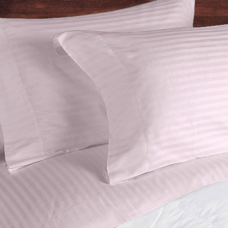 NILE VALLEY 100%EGYPTIAN COTTON 800 TC BED SHEETS-CAL.KING STRIPED