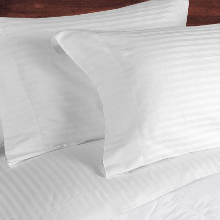NILE VALLEY 100%EGYPTIAN COTTON 800 TC BED SHEETS-FULL STRIPED