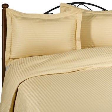 NILE VALLEY 800TC100%EGYPTIAN COTTON DUVET COVER QUEEN STRIPED