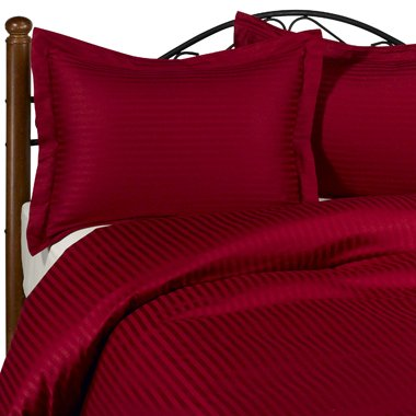 NILE VALLEY 800TC100%EGYPTIAN COTTON DUVET COVER FULL/DOUBLE STRIPED