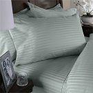 NILE VALLEY 100%EGYPTIAN COTTON 1000 TC BED SHEETS-FULL STRIPED