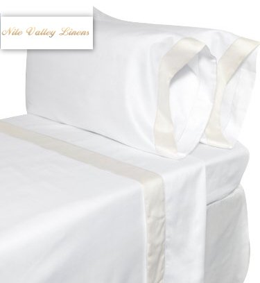 NILE VALLEY 100%EGYPTIAN COTTON 820 TC BED SHEETS-FULL