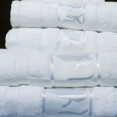 Jacquard Velour 100%Egyptian cotton Towel set