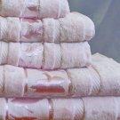 Jacquard Velour 100%Egyptian cotton Towel set