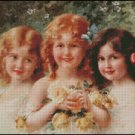 THREE SISTERS cross stitch pattern