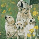 Dogs FAMILY cross stitch pattern