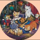 CHRISTMAS KITTIES cross stitch pattern