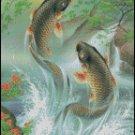 KOI FISH cross stitch pattern