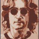 JOHN LENNON cross stitch pattern