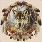 WOLF 2 cross stitch pattern