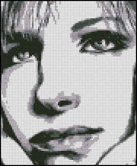 BARBARA STREISAND #3 cross stitch pattern