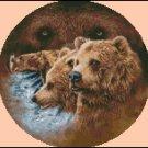 BEARS cross stitch pattern