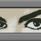 MICHAEL JACKSON 2 cross stitch knitting crochet pattern