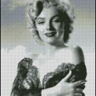 MARILYN MONROE #14 cross stitch pattern