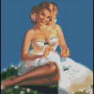 PIN UP 10 cross stitch pattern