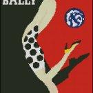 VINTAGE BALLY VILLEMOT cross stitch pattern