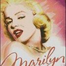 MARILYN MONROE 16 cross stitch pattern