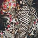 KOI FISH  cross stitch pattern No. 308