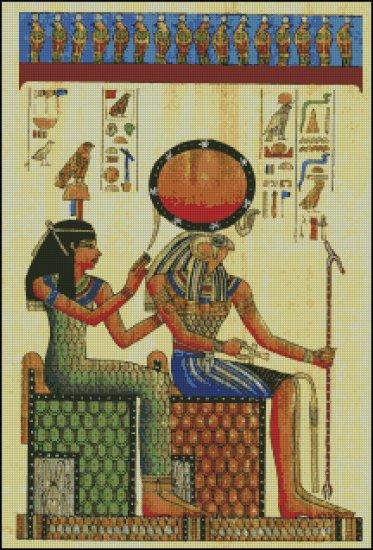 EGYPT THEME cross stitch pattern