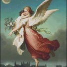GUARDIAN ANGEL cross stitch pattern