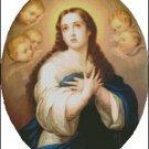 ST MARY cross stitch pattern