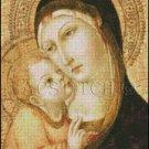 MADONNA AND CHILD 1 cross stitch pattern