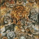 THE CAT FAMILY cross stitch pattern