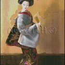 GEISHA 3 cross stitch pattern