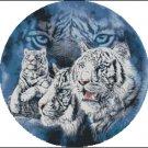 Fantasy TIGER'S EYES 2 cross stitch pattern