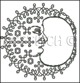 INDIAN DESIGN 1 cross stitch CROCHET pattern