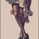 PIN UP LEGS 1 cross stitch pattern