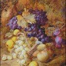 GRAPES IN A BASKET cross stitch pattern