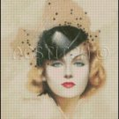 WOMAN PORTRAIT 8 cross stitch pattern