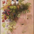 BIRDS AND BEES cross stitch pattern