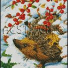 CUTE CHRISTMAS CRITTER cross stitch pattern