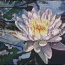 WATER LILY cross stitch pattern