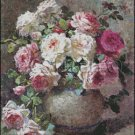 Still Life with Roses cross stitch pattern