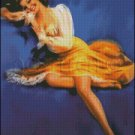 PIN UP 23 cross stitch pattern