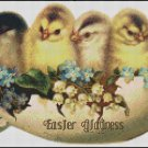 EASTER GLADNESS cross stitch pattern