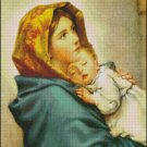 MADONNA Of THE STREETS Color cross stitch pattern