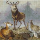 DEER 3 cross stitch pattern