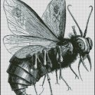 VINTAGE FLY cross stitch pattern