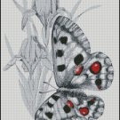 BUTTERFLY cross stitch pattern No.638