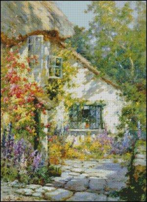 A HOME IN DEVON cross stitch pattern No.678