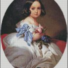 PRINCESS CHARLOTTE cross stitch pattern No.722