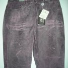 NEW Versace Distressed Leather Jeans - EU 40/US 26