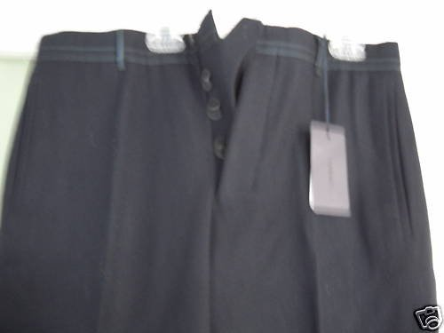 NEW PRADA Women's Wool Pants - EUR 38/US 4