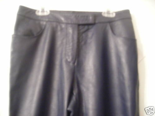 NEW Gaetano Navarra Leather Pants - EU 44/US 10